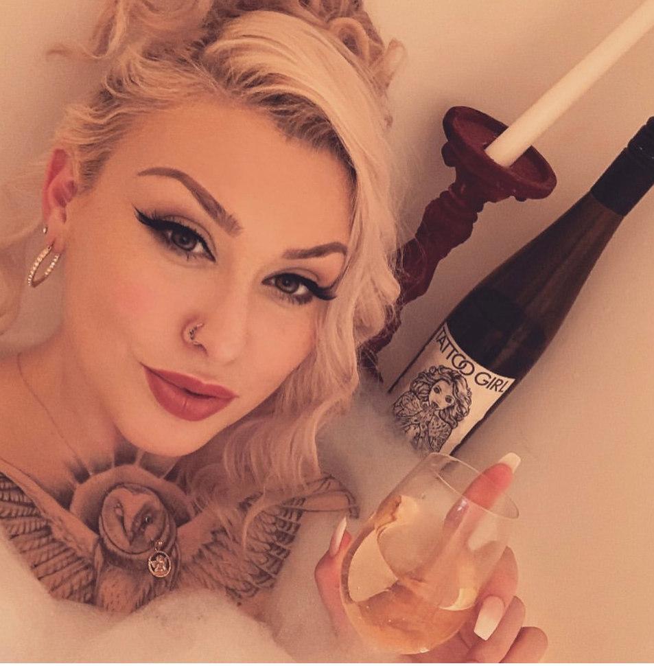 Celeste Sorensen - October Tattoo Girl