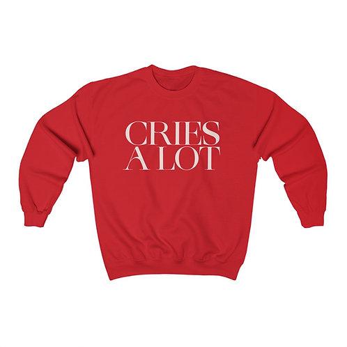 Cries A Lot Sweatshirt
