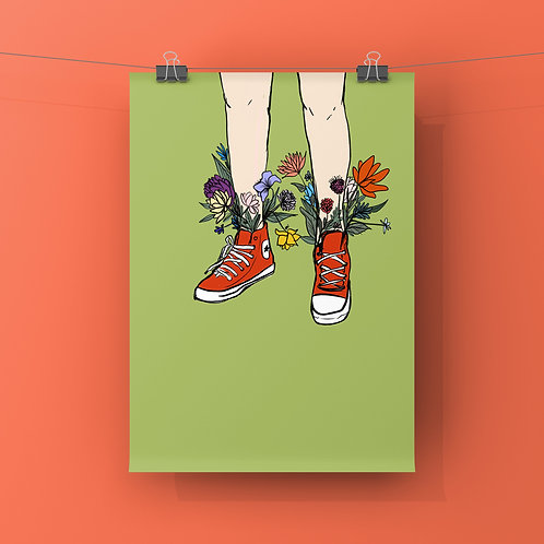Run to Summer Print