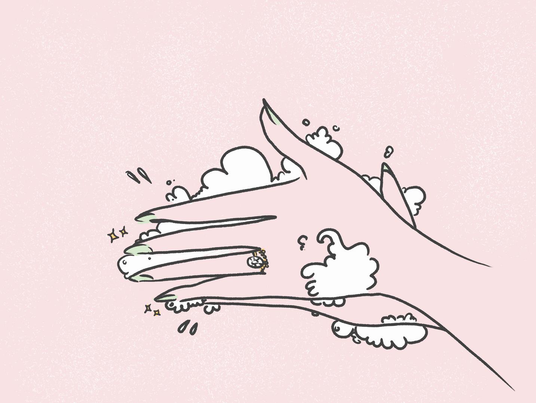 Swoon Bridal Covid Illustration