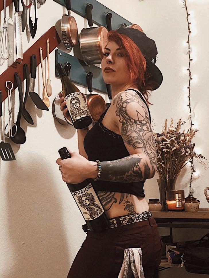 February Tattoo Girl: Teresa
