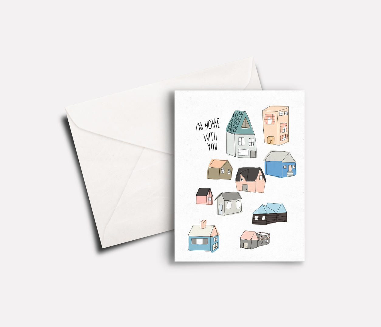'I'm Home' 'Rarest' peachbaby Greeting Card