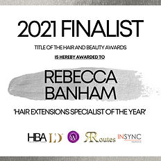 Rebecca Banham - TITLE OF THE HAIR AND B
