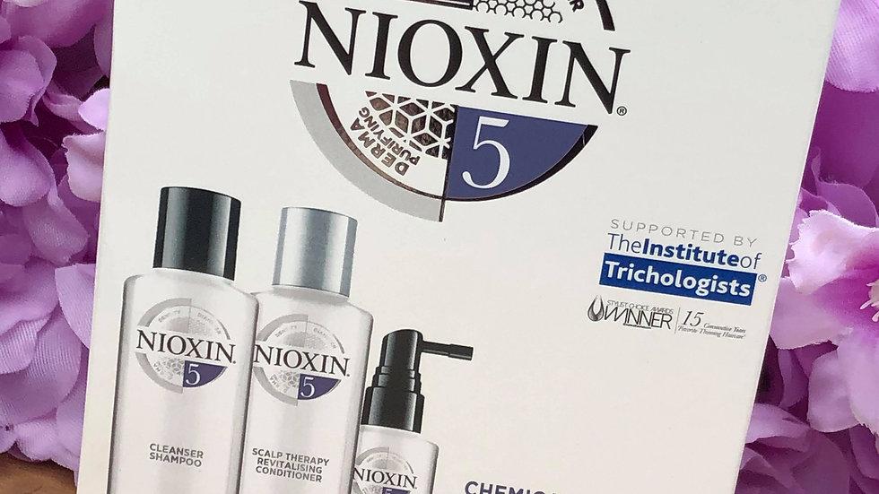 Nioxin trail kit system 5