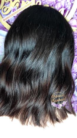 Brunette balayage