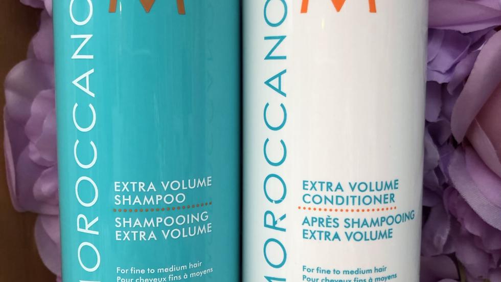 Moroccan oil extra volume 500ml duo shampoo & conditioner
