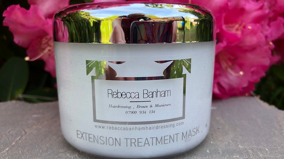 Hair extension treatment mask large 250ml Rebecca Banham my exclusive aftercare