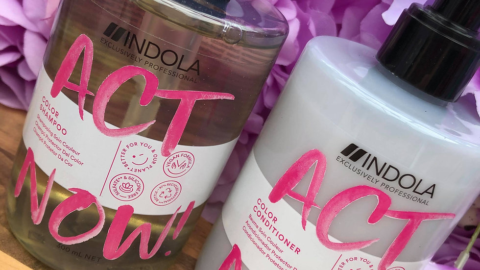 Indola Act Now! Colour care