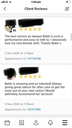 Love my clients xx
