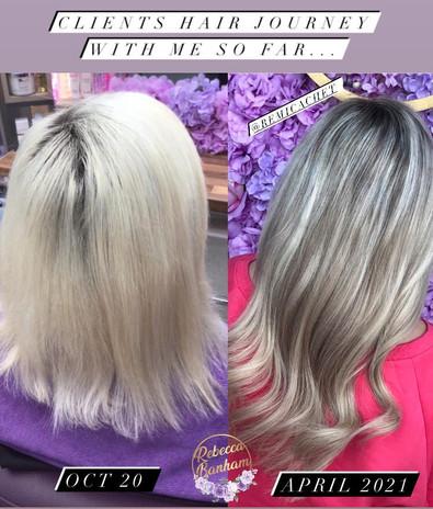 Hair tranformation