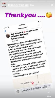Hair colour review