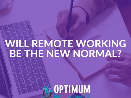 Will Remote Working Be The New Normal?