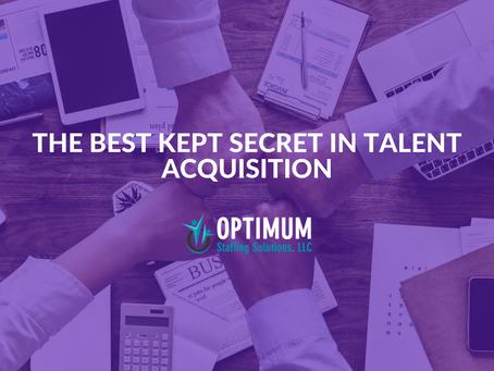 The Best Kept Secret in Talent Acquisition