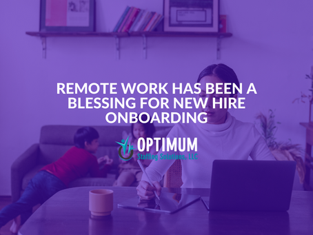Remote Work Has Been a Blessing for New Hire Onboarding
