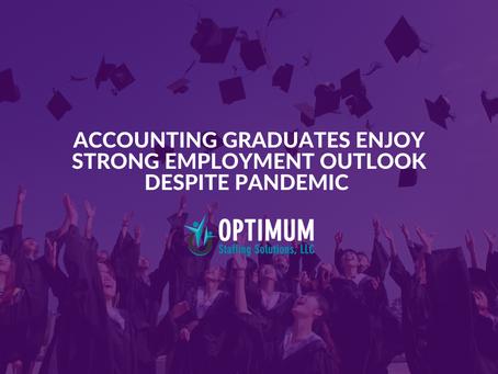 Accounting Graduates Enjoy Strong Employment Outlook Despite Pandemic