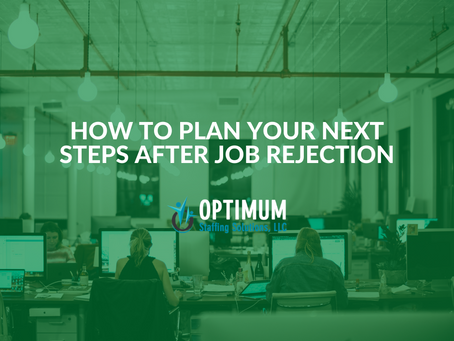 How to Plan Your Next Steps After Job Rejection