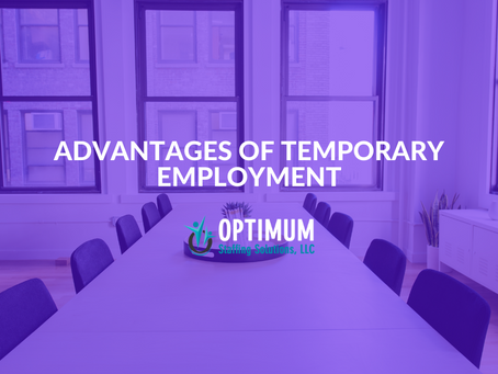 Advantages of Temporary Employment
