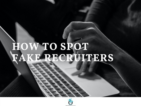 How to Spot Fake Recruiters. 5 Red Flags!