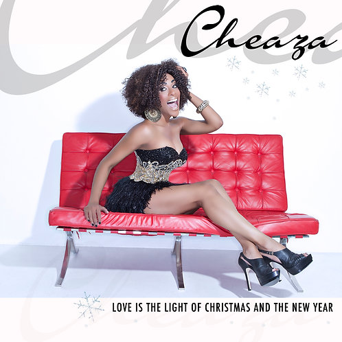 CHEAZA CHRISTMAS ALBUM + PERSONALIZED AUTOGRAPHED CHRISTMAS CARD