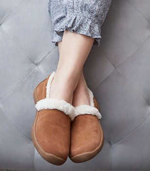 Slippers + Arch Support