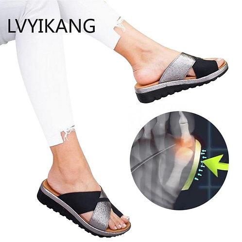 Women Orthopedic Bunion Comfy Platform Sandal