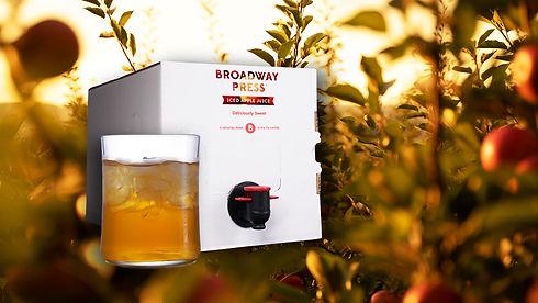 5L Broadway Press Apple Juice