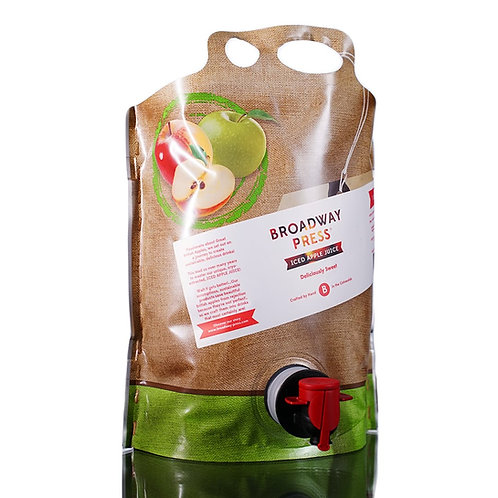 Broadway Press® Iced Apple Juice - 3 Litre Pouch