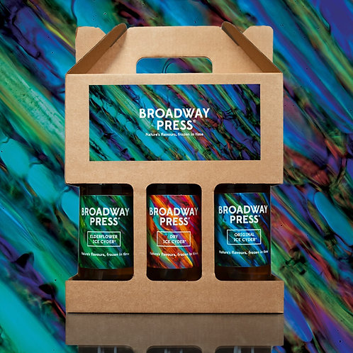 Broadway Press Ice Cyder Bottle Gift Pack