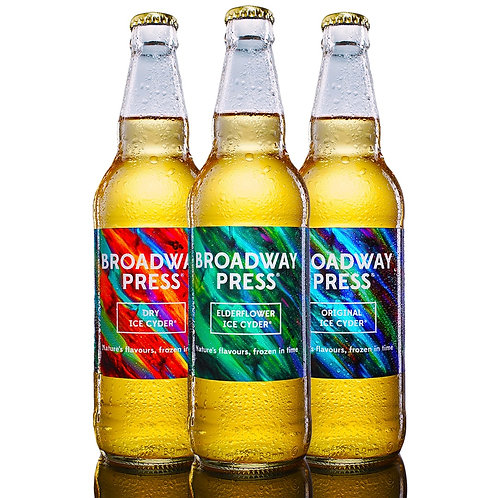 Broadway Press® Ice Cyder ® 500ml Mixed Box