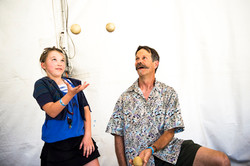 Learning how to juggle