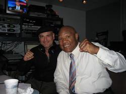 George Foreman & Joey Salvia