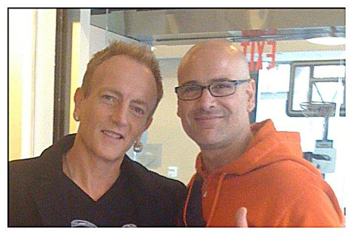 Me and Phil of Def Leppard