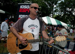 At Belmont playing for listeners of 1050 Espn