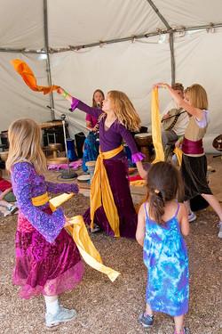 World folk dancing
