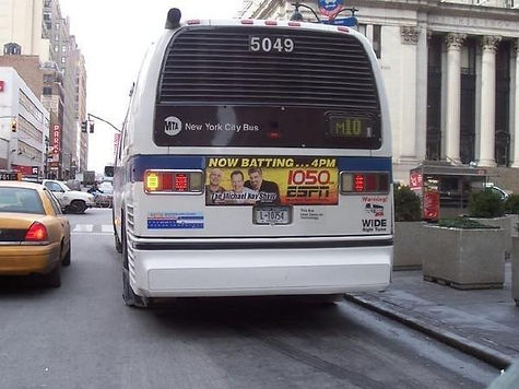 The Bus ads ( I still had to pay to ride