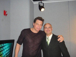 With Holt McCallany