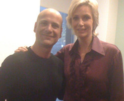 Talking improv with Jane Lynch too cool ( Joey Sal