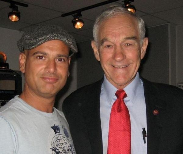 Ron Paul (we talked about Ayn Rand) ( Joey Salvia