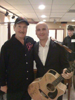 With the one and only, James Burton (Rock and Roll