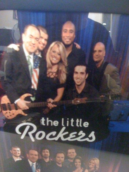Gov Huckabee and his Little Rockers ( Joey Salvia