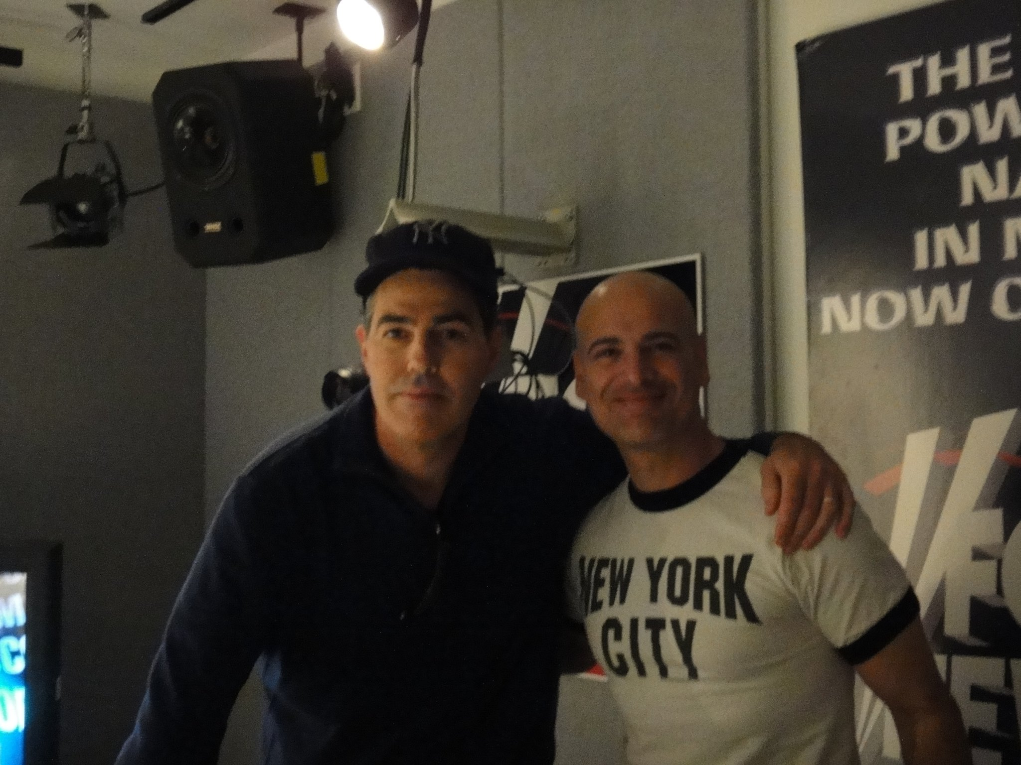 Adam Carolla at Fox News he slept in my studio bef
