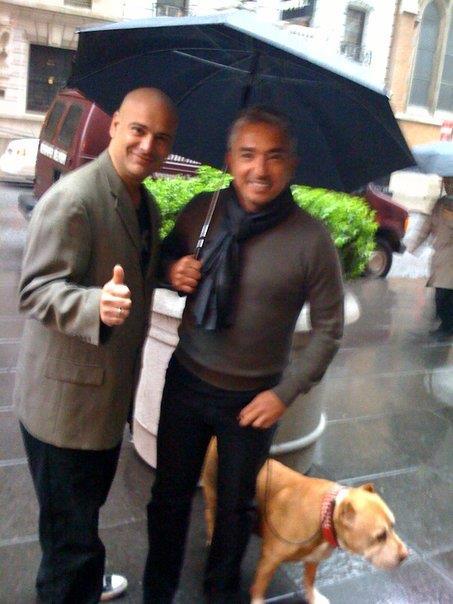 Dog Whisperer Cesar Millan My wife hired him becau