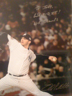 Andy gave this to me after the 2009 World Series f