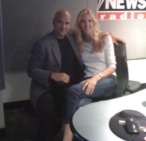 Working with Ann Coulter ( Joey Salvia )