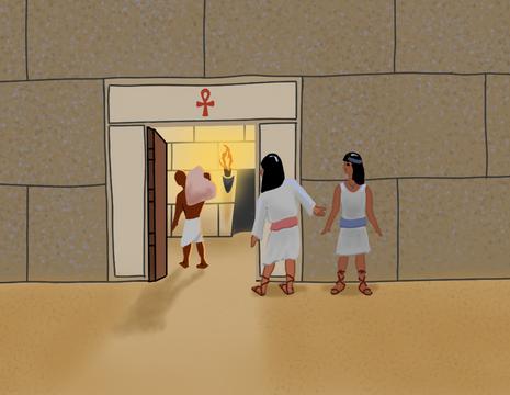 O Amuleto - tentando entrar