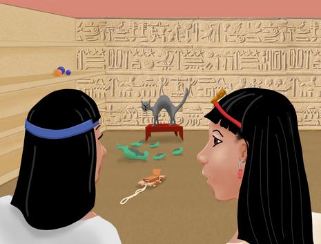 O Amuleto  -  Sar Anubi e Joa-nabeth