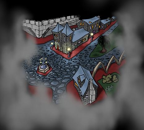 Os Guardiães - a pequena cidade