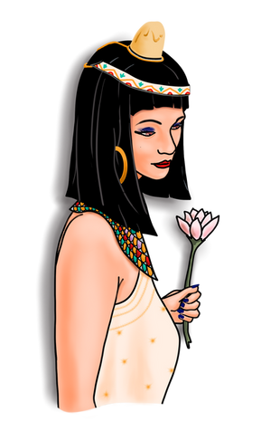O Amuleto - a senhora na festa