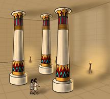 O Amuleto - no palácio