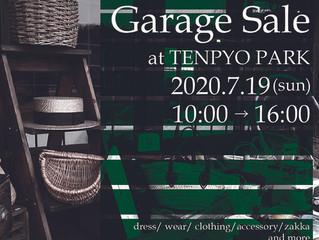 GarageSale at TENPYOPARK